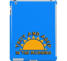 Community - Troy and Abed in the morning iPad Case/Skin