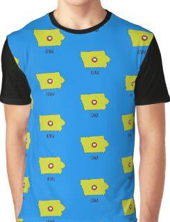Iowa State Heart Graphic T-Shirt