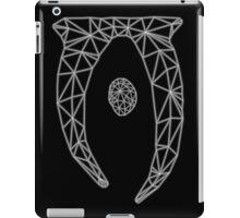 80's Cyber Oblivion and Skyrim Elder Scrolls Logo iPad Case/Skin