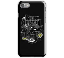 Black Cereal iPhone Case/Skin