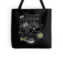 Black Cereal Tote Bag