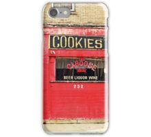 Cookies Caboose iPhone Case/Skin