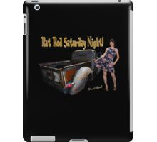 Rot Rod Saturday Night T-Shirt from VivaChas! iPad Case/Skin