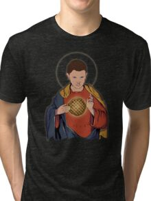 Our Lady 11  Tri-blend T-Shirt
