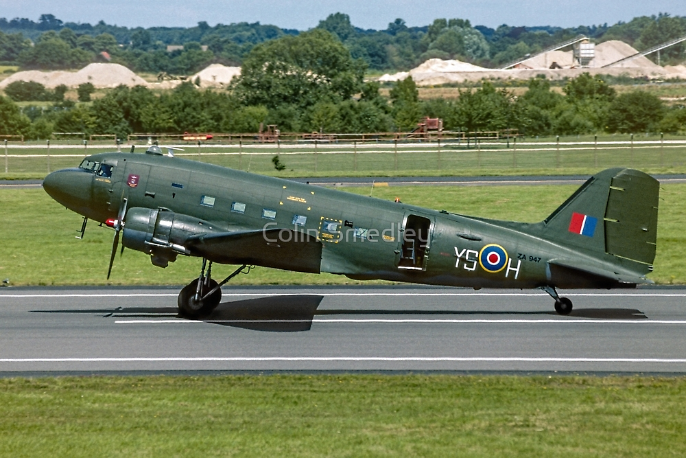 BBMF Douglas Dakota C.3 ZA947/YS-H by Colin Smedley