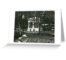 Boston Common Gazebo Greeting Card