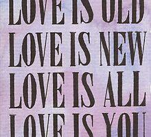 Love is... by Jade Jones