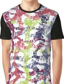 colorful lines pattern Graphic T-Shirt