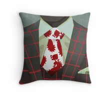 Sharply Dressed: Hannibal Throw Pillow