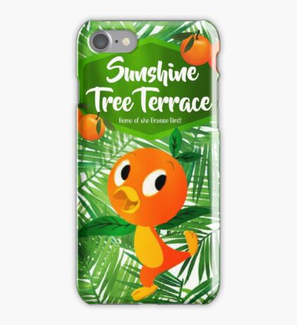 Sunshine Tree Terrace - Home of the Orange Bird iPhone Case/Skin