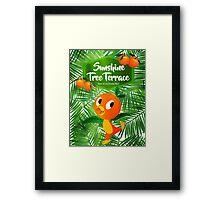 Sunshine Tree Terrace - Home of the Orange Bird Framed Print