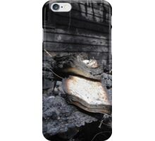 Remnants from a house fire iPhone Case/Skin