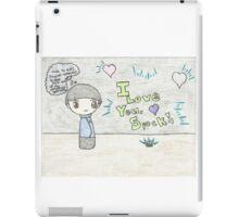 Spirk Chibi iPad Case/Skin