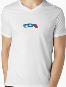 President Thomas Jefferson American Patriot Vintage Mens V-Neck T-Shirt