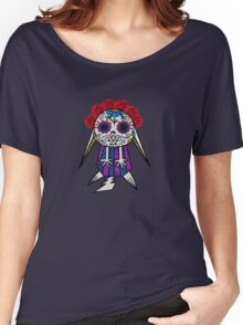 Day of the Dead Kawaii Women's Relaxed Fit T-Shirt