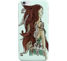 Princess with long hair iPhone Case/Skin