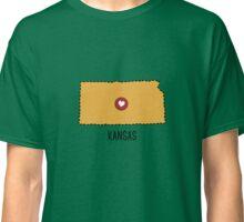 Kansas State Heart Classic T-Shirt
