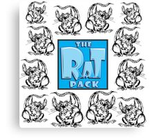 The Rat Pack Group Canvas Print