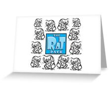 The Rat Pack Group Greeting Card