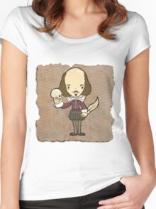 Shakespeare Women's Fitted Scoop T-Shirt