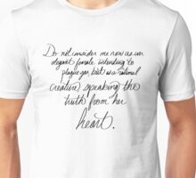 A Rational Creature Unisex T-Shirt