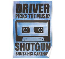 Driver Picks the Music Poster