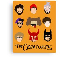 The Creatures 2013 Canvas Print