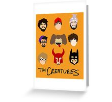 The Creatures 2013 Greeting Card