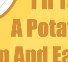 Take a Potato Chip - Death Note Sticker