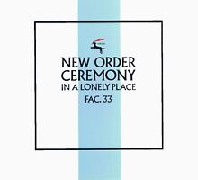 New Order - Ceremony Unisex T-Shirt