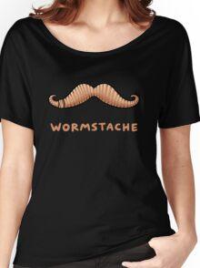 Wormstache Women's Relaxed Fit T-Shirt