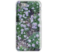 Delicate small purple flowers. iPhone Case/Skin