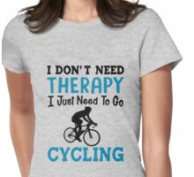 Cycling Womens Fitted T-Shirt