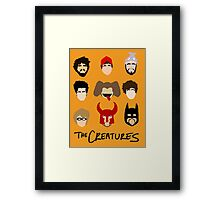 The Creatures 2014 Framed Print