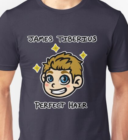 Captain James Tiberius Perfect Hair Unisex T-Shirt