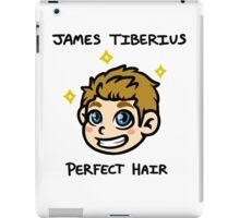 Captain James Tiberius Perfect Hair iPad Case/Skin