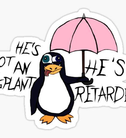 He's not an Eggplant Sticker