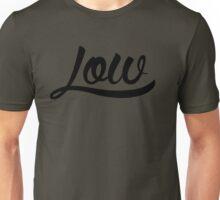 Low Clean [Black Mono] Unisex T-Shirt