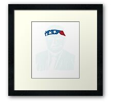 President Richard Nixon American Patriot Vintage Framed Print