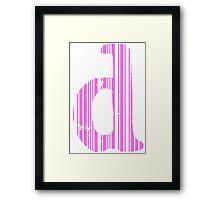 Cool D Framed Print
