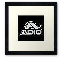 Adio shoes Framed Print
