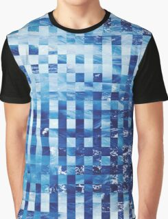 Abstract sea pixel pattern  Graphic T-Shirt