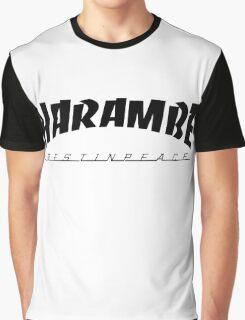 R.I.P Harambe Graphic T-Shirt