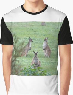 'MORNING POW WOW!' 'Arilka' Mount Pleasant. Adelaide Hills. Graphic T-Shirt
