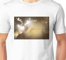 Free Indeed Glowing Butterflies Unisex T-Shirt