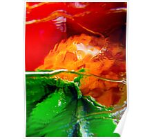Abstract 4946 - tee shirt, i-phone case, i-pad case, pillow, tote and duvet cover Poster