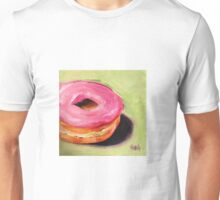 Sweet Donut with Strawberry Cream. 0 calories :) Unisex T-Shirt