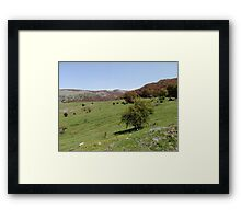 Mountains Of Southern Italy Framed Print