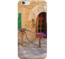 The Green Shutter With Pot Plants..........................Majorca iPhone Case/Skin
