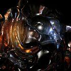 Alien Head VII II by Hugh Fathers